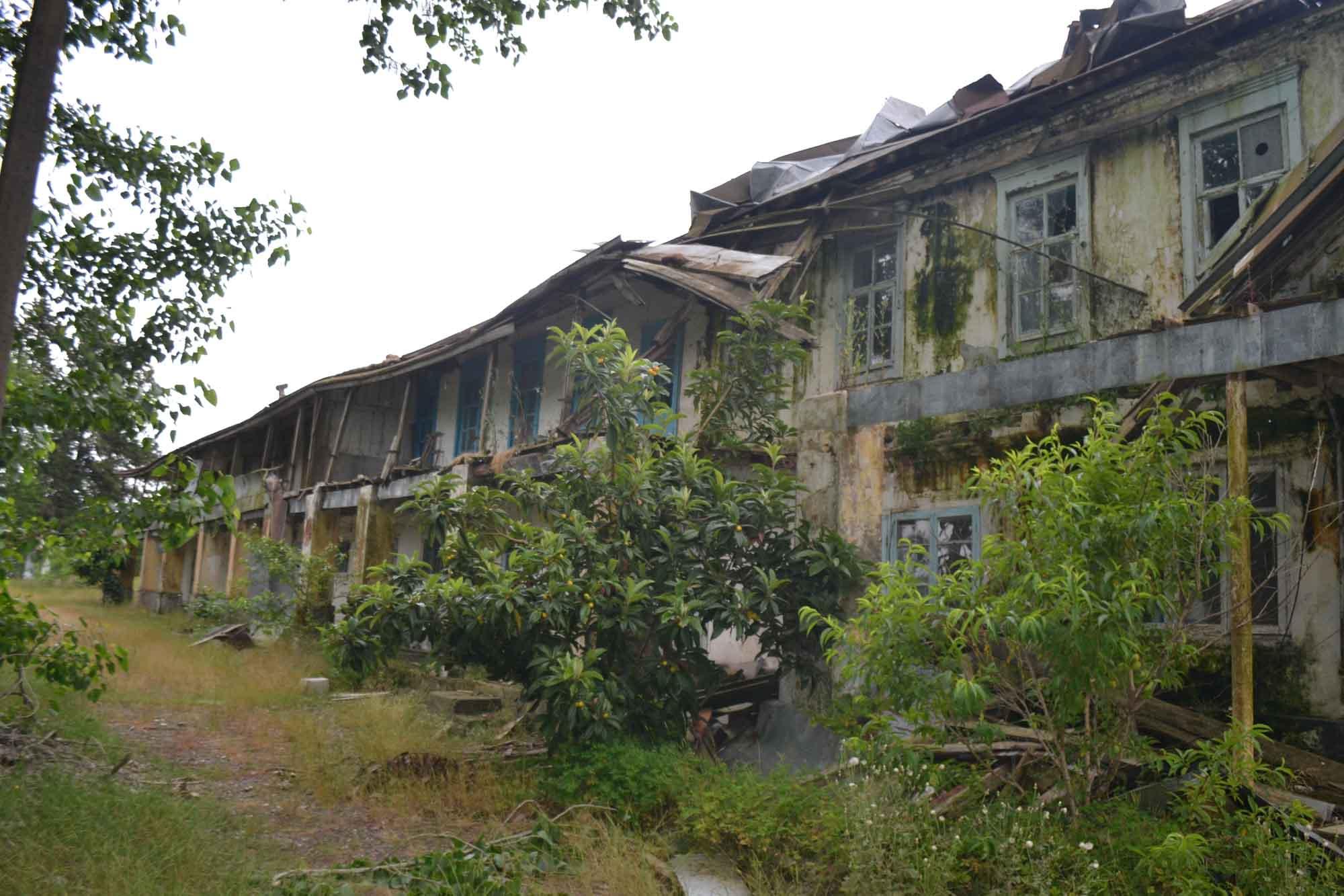 وضعیت دلخراش آثار تاریخی ثبت شده ملی شیلات بندر کیاشهر+تصاویر