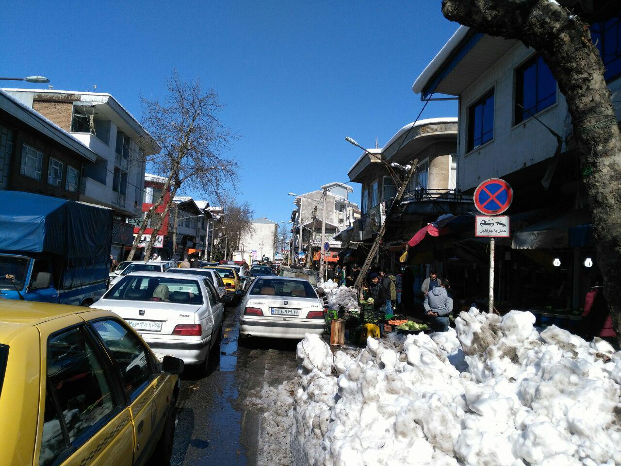 اختصاصی/رشت،شهر بی دفاع/شهردار پاسخگو نیست/آیا وضعیت پس از برف مناسب است؟