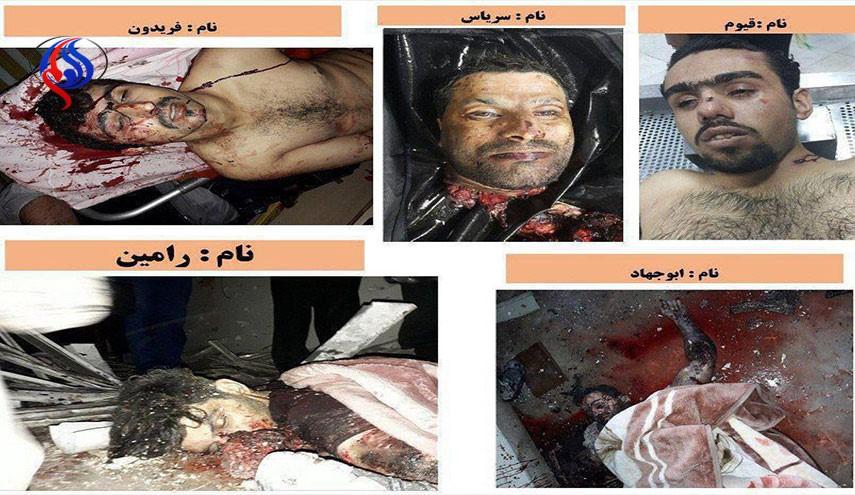 انتشار هویت ۵ تروریست عملیاتی روز گذشته تهران توسط وزارت اطلاعات