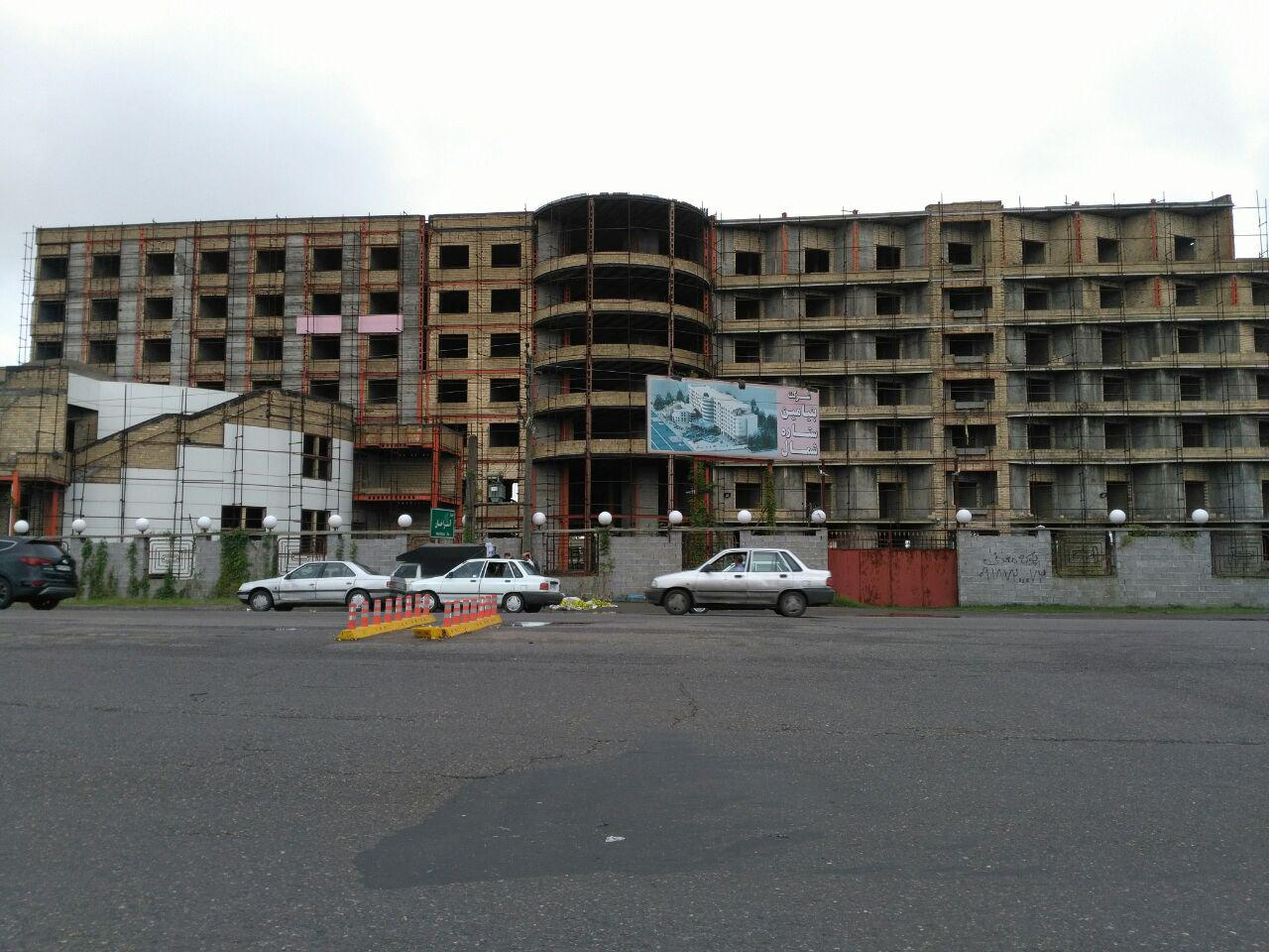 اختصاصی/بی اطلاعی فرماندار از دلیل نیمه کاره بودن هتل درنا رشت با قدمت 12 ساله/آگهی فروش منتشر شد