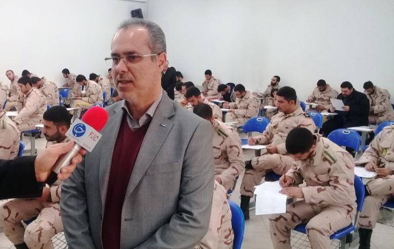 شرکت بالغ بر 2 هزار نفر از سربازان وظيفه در نخستين دوره آزمون تعيين سطح مهارتي رشت
