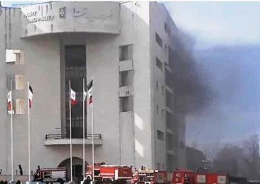 آتش سوزی در ساختمان مرکزی شهرداری رشت مهار شد / شهردار کجا بود  ؟