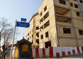 اختصاصی /  سرقت تعدادی از حلب های ساختمان نیمه کاره منطقه سه شهرداری رشت