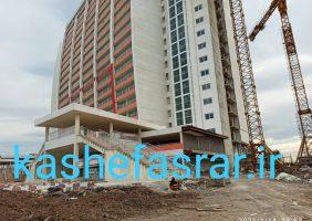 اختصاصی / به دستور رییس جمهوری ؛ بلوک b  برج طاووس منطقه آزاد انزلی افتتاح شد / سازنده برج شرکت انبوه سازان زرین منطقه آزاد انزلی است